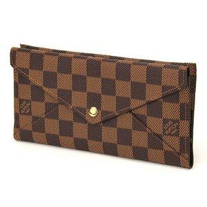 Louis Vuitton(ルイヴィトン) ダミエ ポルトフォイユ・オリガミロン N63097 長財布 メンズ ダークブラウン