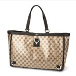 GUCCI OUTLET(グッチ アウトレット) GGクリスタル 293580 FZFIG 9903 トートバッグ ベージュ