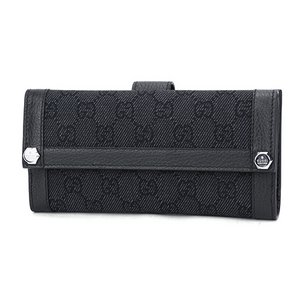 GUCCI OUTLET(グッチ アウトレット) 231839 F5DIN 1160 長財布 ブラック