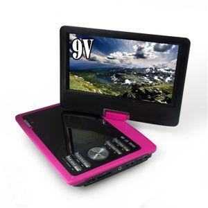 ZOX(ゾックス) 9インチ液晶搭載ポータブルDVDプレーヤー DS-PP90NC114MG マゼンタ VRモード・CPRM対応、USB・MMC