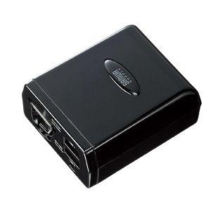 SANWASUPPLY(サンワサプライ) カーチャージャー(携帯電話・iPhone・iPod・PSP・DS Lite・DSi充電対応) CAR-CHR57M