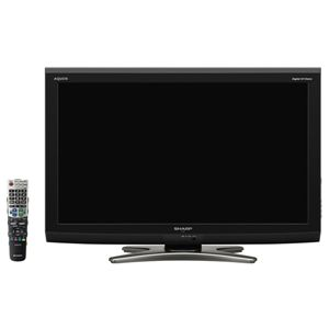 SHARP(シャープ) AQUOS 32V型 32V型 地上・BS・110度CSデジタルハイビジョン液晶テレビ LC-32E7-B LC32E7