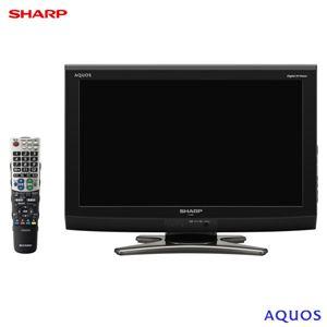 SHARP(シャープ) AQUOS 20V型 地上・BS・110度CSデジタルハイビジョン液晶テレビ LC-20E7-B LC20E7