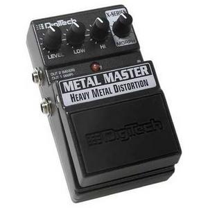 DigiTech(デジテック) コンパクトエフェクター METAL MASTER Heavy Metal Distortion ヘビーメタルディストーション