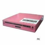 コム・アライアンス MP3対応DVDプレイヤー YTO-106C/PK ピンク CPRM対応 多彩な出力端子!薄型ボディ 【新品メーカー保証つき】
