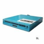コム・アライアンス MP3対応DVDプレイヤー YTO-106C/BL ブルー CPRM対応 多彩な出力端子!薄型ボディ 【新品メーカー保証つき】