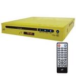 コム・アライアンス MP3対応DVDプレイヤー YTO-106C/YE イエロー CPRM対応 多彩な出力端子!薄型ボディ 【新品メーカー保証つき】
