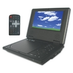 【CPRM対応】ゾックス 7インチ液晶搭載 DVDプレーヤー(ブラック) DS-PP70NC108BK