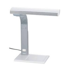TWINBIRD ツインバード コンセント付タッチインバータ蛍光灯 ライトグレー LK-H344LGY 訳あり品 アウトレット