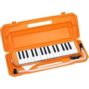 カラフル32鍵盤ハーモニカ MELODY PIANO P3001-32K オレンジ