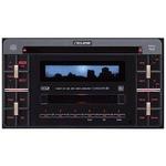 FUJITSU TEN(富士通テン) カーオーディオ ECLIPSE(イクリプス) E3306CMT ブラック MP3/WMA対応 2DINサイズ (CD/MDメインユニット)