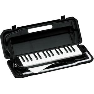カラフル32鍵盤ハーモニカ MELODY PIANO P3001-32K ブラック