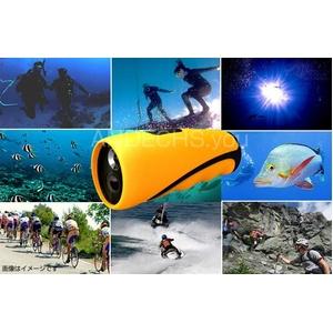 【小型カメラ】水中ビデオカメラ 水深10M 8G内臓 Windows7対応【AN-W010 水中カメラ】