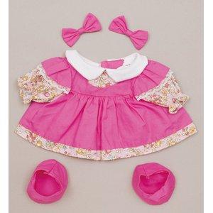 プチハピコレクション01ピンクワンピース(靴、リボン付)「うたこちゃん」専用お洋服