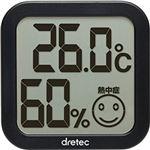 O-271BK デジタル温湿度計 ブラック