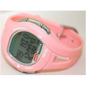 Mio(ミオ) 心拍計測スポーツウォッチ Motiva Petite Pink(モティバ プチ ピンク) 本体-横
