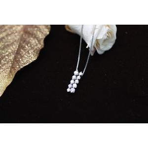 1ctスイート10ダイヤモンドネックレス JK19358