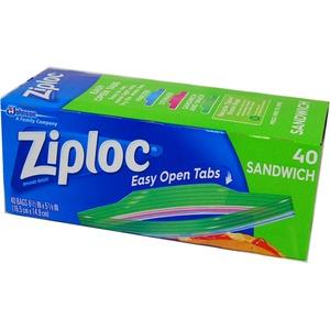 Ziploc サンドイッチバック 40P 【3個セット】