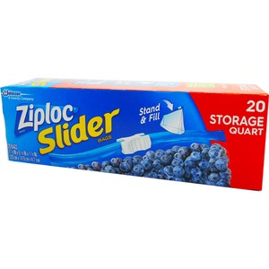 Ziploc イージージッパー ストレイジバック 20P 【3個セット】