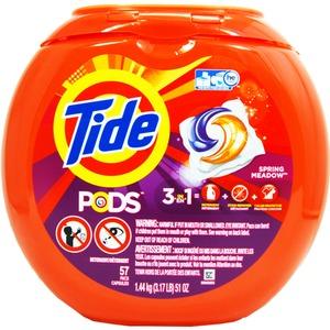 洗濯用洗剤 TIDE PODS(タイドポッズ)スプリングメドー(57回分)