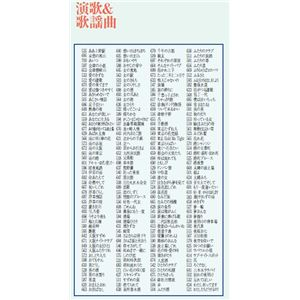 ON STAGE(オンステージ) 専用追加曲チップ 200曲入りチップ(お得用タイプ) 演歌、歌謡曲中心 PKST2