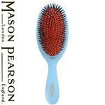 MASON PEARSON(メイソンピアソン) ナイロン+猪毛ブラシ ジュニアミックス ブルー 【正規輸入品】