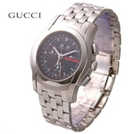 GUCCI(グッチ) メンズ ウォッチ YA055206 クロノグラフ ポインターデイト