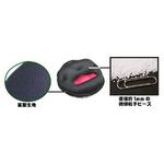 電気を使わない 暖か足温器 Cubeads「ペチカ」(色:外面/黒、中面/赤)