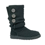 【UGG(アグ) AUSTRARIA】 ブーツ Classic Cardy Boots/BLACK★US8