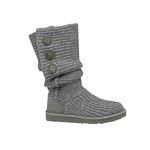 【UGG(アグ) AUSTRARIA】 ブーツ Classic Cardy Boots/GREY★US6