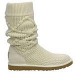 【UGG(アグ) AUSTRARIA】 ニットブーツ Classic Argyl Knit Boots/CREAM★US6