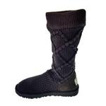 【UGG(アグ) AUSTRARIA】 ブーツ Classic Argyl Knit Boots/STOUT  BROUN★US7