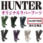 【HUNTER】オリジナルラバーブーツ/ネイビー/UK9