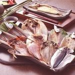 【父の日用】沼津「奧和」のひもの詰合せ5種(9枚)あじ、さんま、かます、金目鯛、ほっけ