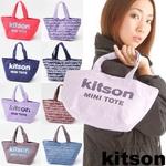 kitson(キットソン) ミニトートバッグ GRAFFITI Navy