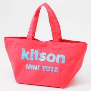 kitson(キットソン) ミニトートバッグ MINITOTE Red