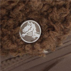 クロックスnadia  brown/brown W7(23cm程度)