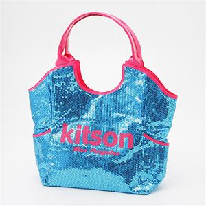 kitson(キットソン) スパンコール トートバッグ Sequin Tote Bag アクア