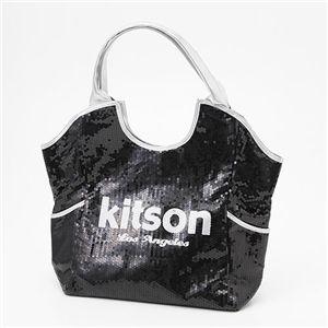 kitson(キットソン) スパンコール トートバッグ Sequin Tote Bag ブラック