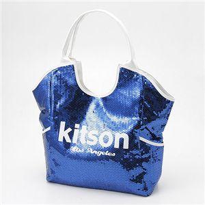 kitson(キットソン) スパンコール トートバッグ Sequin Tote Bag ネイビー