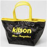 kitson(キットソン) ネオン スパンコール ミニトートバッグ Yellow