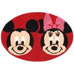 ディズニー ミッキー&ミニー あれれ バスマット
