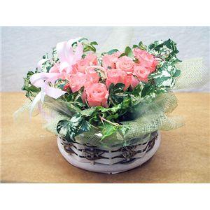 【母の日限定ギフト】ローズハート♪ バラをハート型にアレンジ
