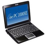 ASUS ノートパソコン Eee PC 1000HE-BLK063X (ファインエボニー with Office 2年間ライセンス版)