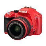 PENTAX(ペンタックス) デジタル一眼レフカメラ K-x ダブルズームキット レッド