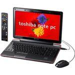 TOSHIBA(東芝) PQV6588LRT (ノートパソコン)
