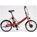 SANYO 電動アシスト自転車 エネループ CY-SPJ220-R レッド