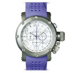 MAX XL WATCHES(マックスエックスエルウォッチ) ラバーベルト腕時計 5-MAX508 47ミリ ライトパープル
