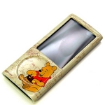 Rix(リックス) iJacket Disney iPod nano 第5世代用 ディズニーセミハードケース 液晶保護フィルムつき (くまのプーさん) RX-iJK524POO 【2個セット】
