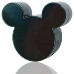 Rix(リックス) iCharger Disney ディズニー ミッキーマウス シルエット型 家庭用コンセント (AC) 充電器 海外対応 (ブラック) RX-DNYACBK 【2個セット】